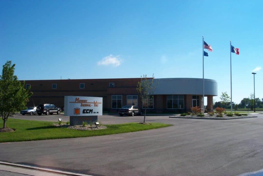 ECM 美国公司在美国威斯康星洲的Kenosha成立
